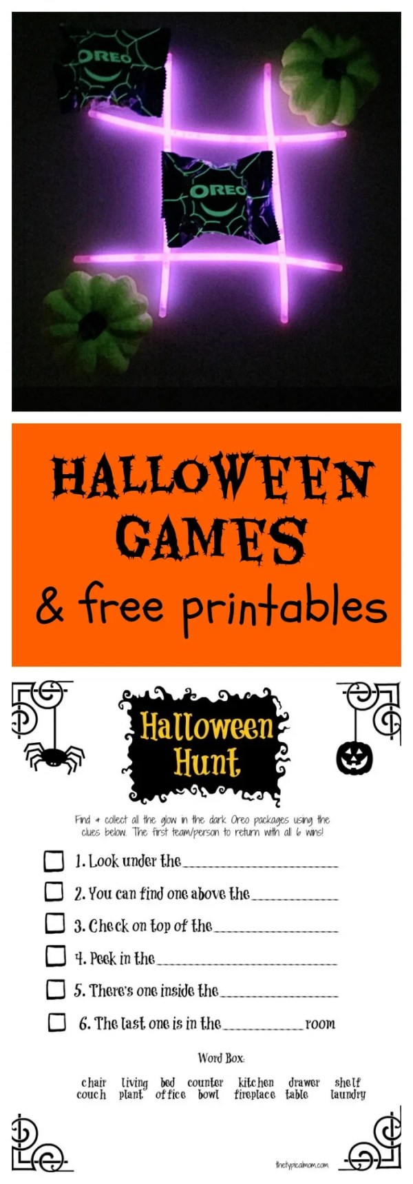 free halloween party games printables # 35