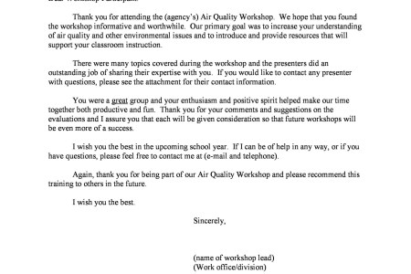 Thank you letter for attending workshop choice image letter format free invoice template seminar invitation letter example best of download for free for commercial or non altavistaventures Gallery