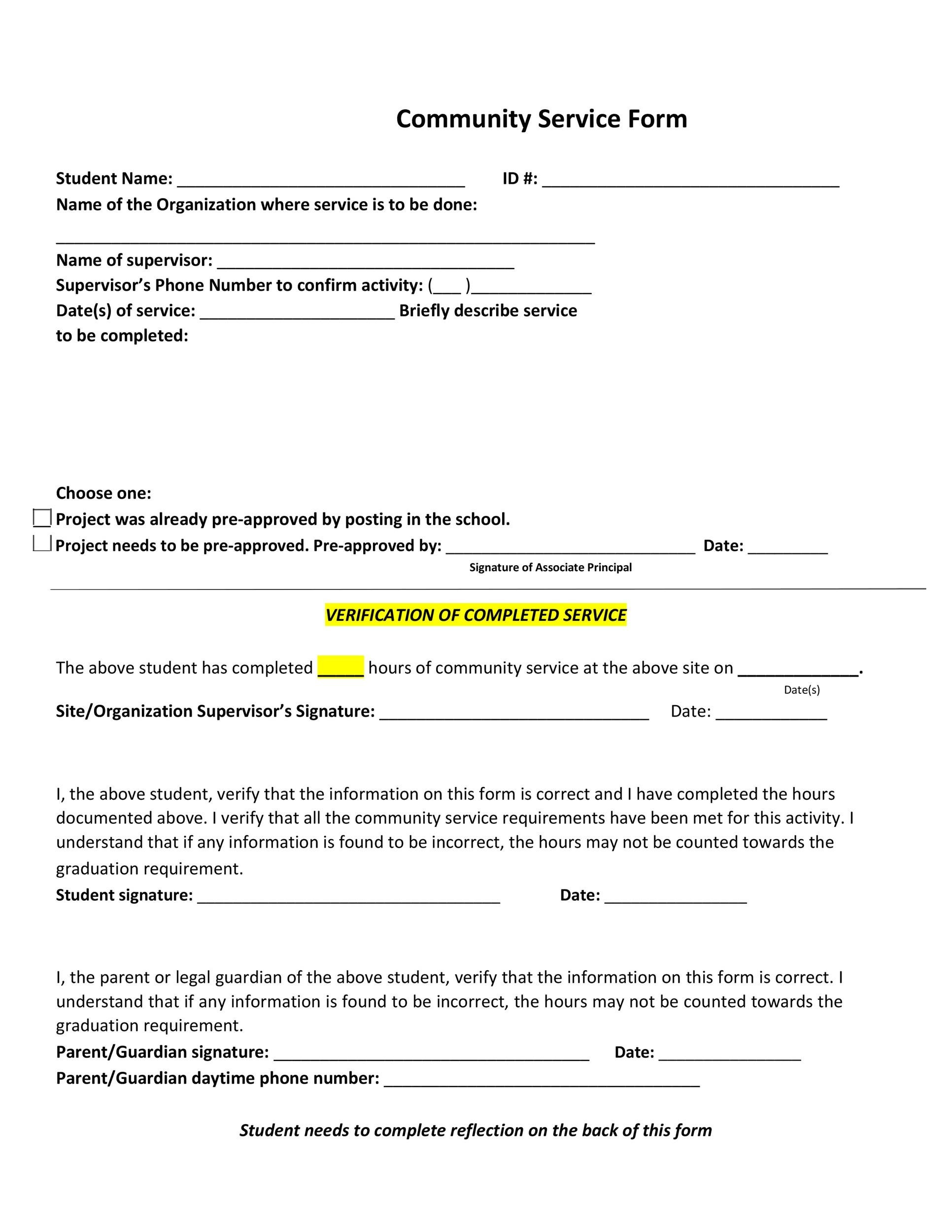 Volunteer Confirmation Letter Template
