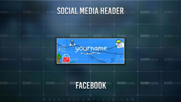 Banner,Preview,Facebook,Cored,overlaytemplate.com