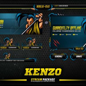 animated overlay package,thumbnail,kenzo,overlaytemplate.com