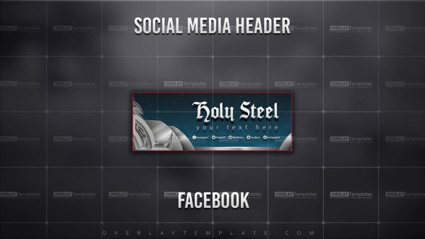 banner,preview,facebook,holy steel,overlaytemplate.com