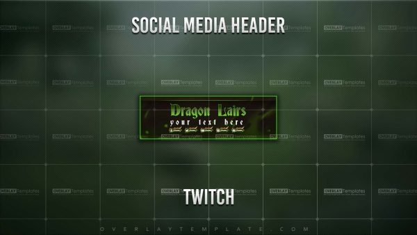 banner,preview,twitch,dragon lair,overlaytemplate.com