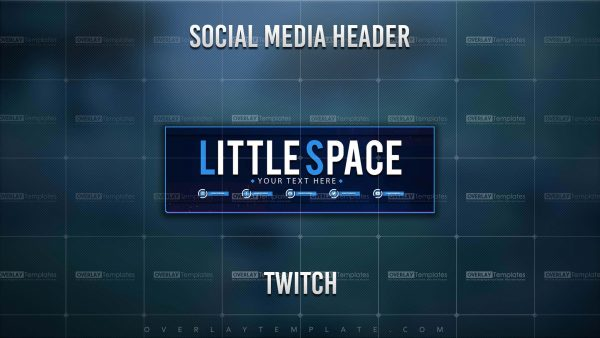 banner,preview,twitch,little space,overlaytemplate.com
