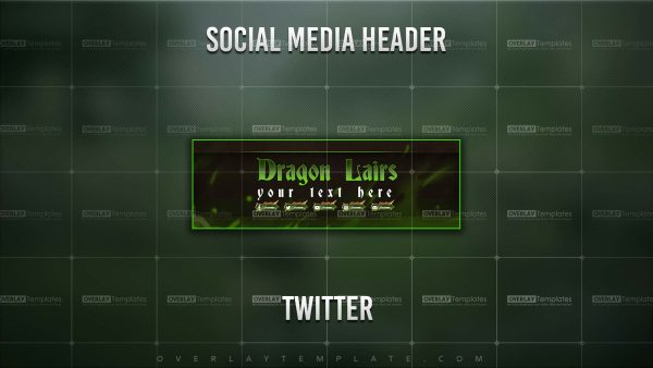 banner,preview,twitter,dragon lair,overlaytemplate.com