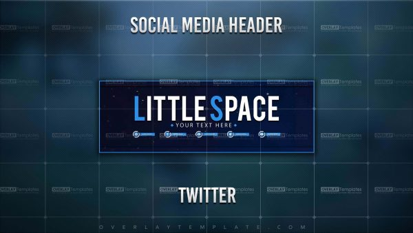 banner,preview,twitter,little space,overlaytemplate.com