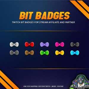 bit badges,preview,bow tie,overlaytemplate.com