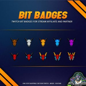 bit badges,preview,bull,overlaytemplate.com