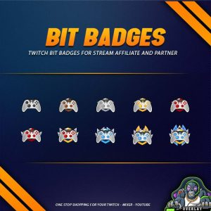 bit badges,preview,controller,overlaytemplate.com