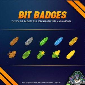 bit badges,preview,corn,overlaytemplate.com