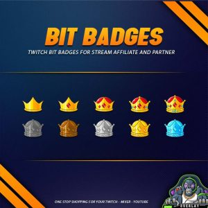 bit badges,preview,crown,overlaytemplate.com