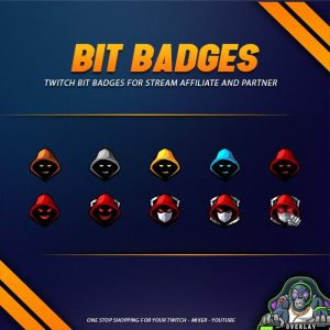 bit badges,preview,hooded man,overlaytemplate.com