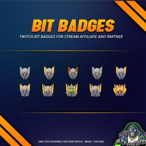 bit badges,preview,knight,overlaytemplate.com