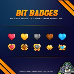 bit badges,preview,love,overlaytemplate.com