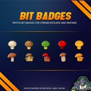 bit badges,preview,mushroom,overlaytemplate.com