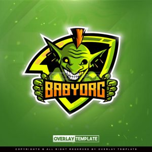 logo,preview,baby orc,overlaytemplate.com