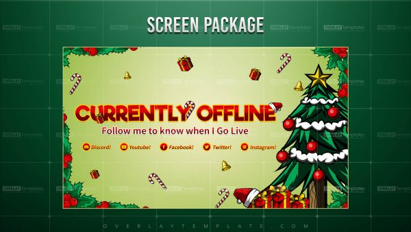 screen,preview,offline,christmas theme,overlaytemplate.com