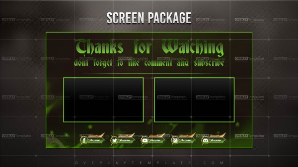 screen,preview,ytend,dragons lair,overlaytemplate.com