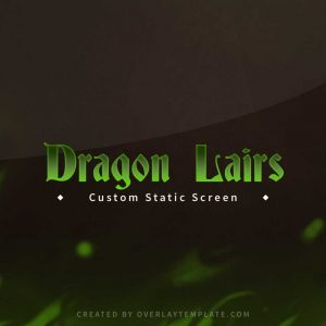 screen,thumbnail,brb,dragons lair,overlaytemplate.com