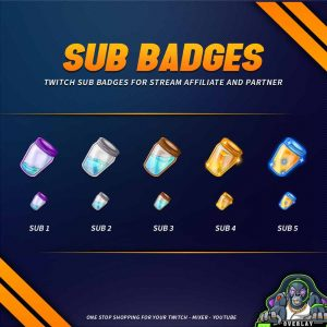 sub badges,preview,poison,overlaytemplate.com