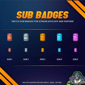 sub badges,preview,tretan,overlaytemplate.com