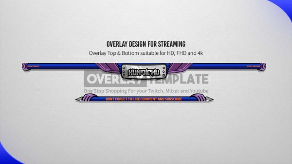 animated overlay package,preview,overlay,kunoichu,overlaytemplate.com