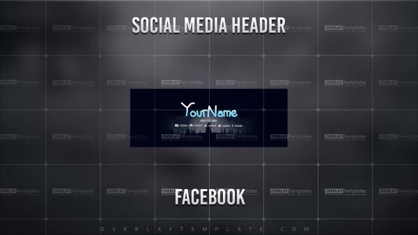 banner,preview,facebook,snow siluet,overlaytemplate.com