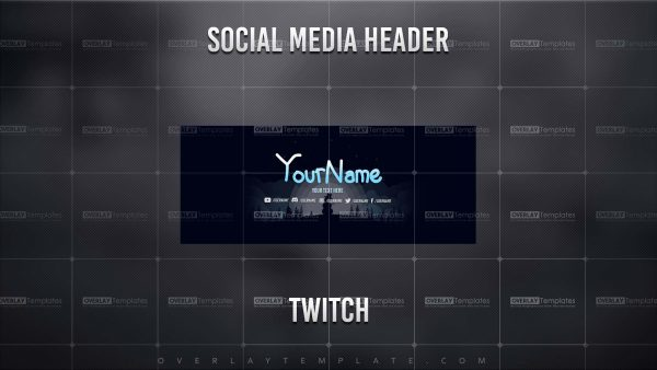 banner,preview,twitch,snow siluet,overlaytemplate.com
