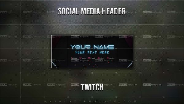 banner,preview,twitch,techno lasers,overlaytemplate.com