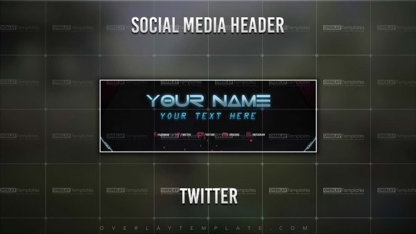 banner,preview,twitter,techno lasers,overlaytemplate.com