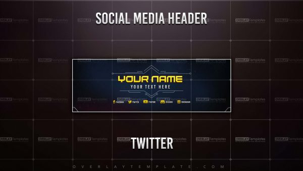 banner,preview,twitter,techno sci-fi,overlaytemplate.com