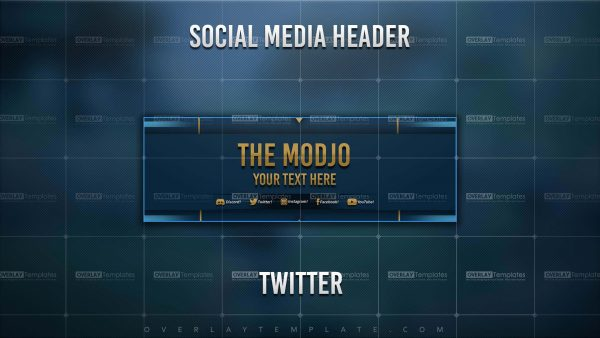 banner,preview,twitter,the modjo,overlaytemplate.com