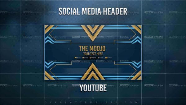 banner,preview,youtube,the modjo,overlaytemplate.com