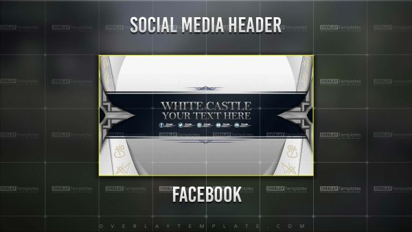 banner,preview,youtube,white castle,overlaytemplate.com