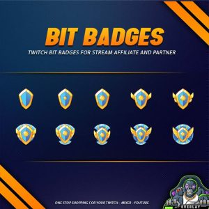 bit badges,preview,shield angle,overlaytemplate.com