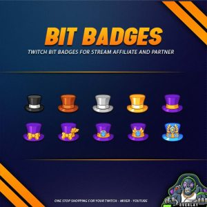 bit badges,preview,tophat,overlaytemplate.com