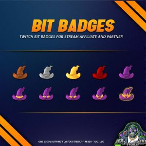 bit badges,preview,wizard hat,overlaytemplate.com