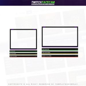 facecam,preview,simple,templateoverlay.com