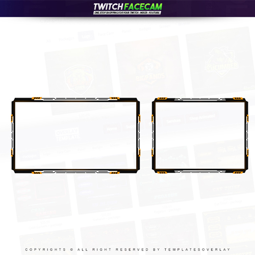 facecam,preview,yellowclaws,templateoverlay.com