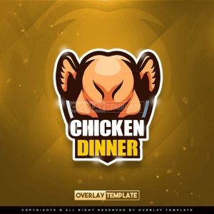 logo,preview,chicken dinner,overlaytemplate.com