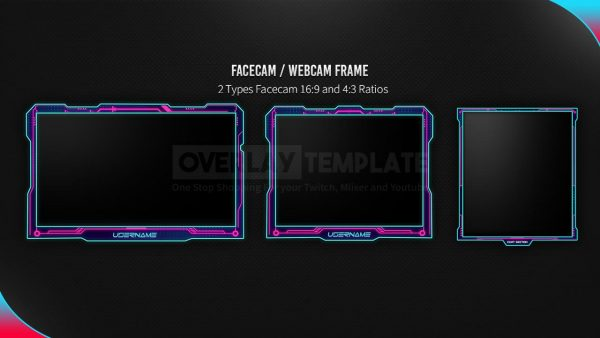 package,preview facecam,cyberpunk,overlaytemplate.com
