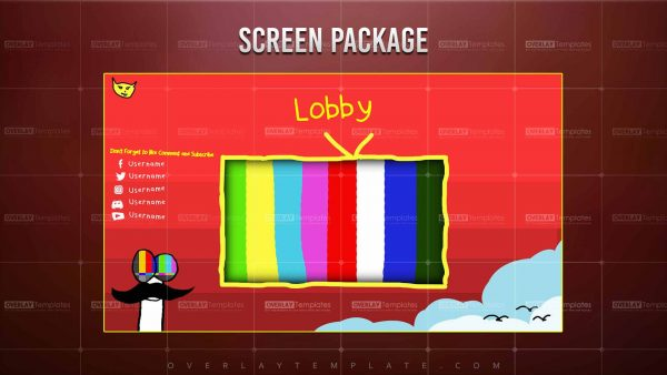 screen,preview,lobby,stay together for the kids,overlaytemplate.com