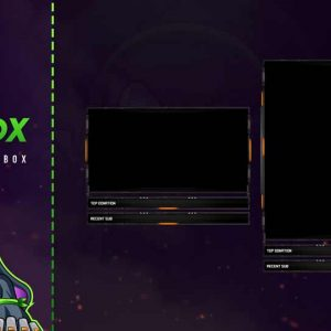 animated chat box,preview,dusterz,overlaytemplate.com