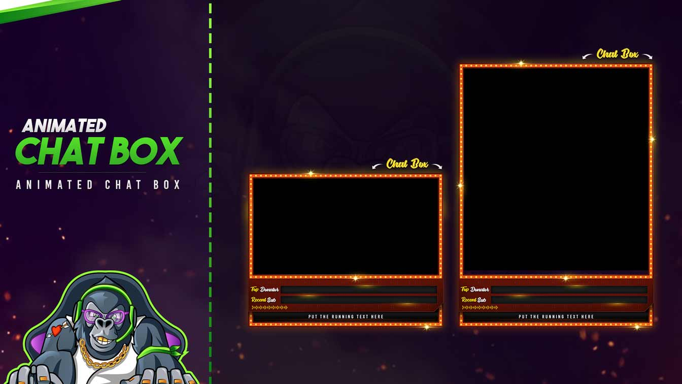 animated chat box,preview,lightnite,overlaytemplate.com