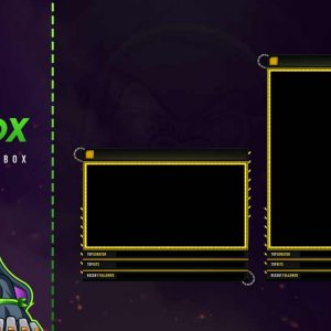 animated chat box,preview,recered,overlaytemplate.com