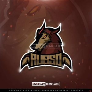 logo,preview,rubso gaming,overlaytemplate.com