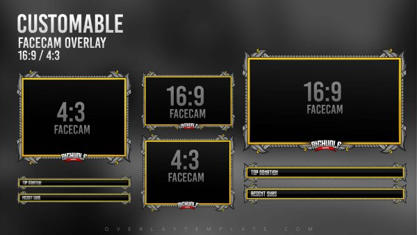 package,preview,valor pirate,facecam,overlaytemplate.com