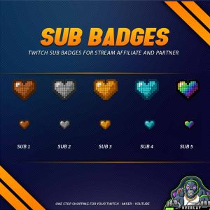 sub badges,preview,love pixel,overlaytemplate.com