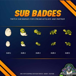 sub badges,preview,turtle2,overlaytemplate.com