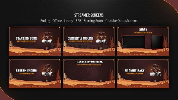 animated overlay package,preview screen,indiant,overlaytemplate.com
